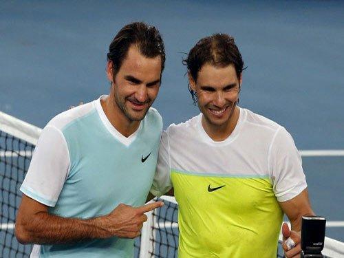 Frenzy at Federer-Nadal clash