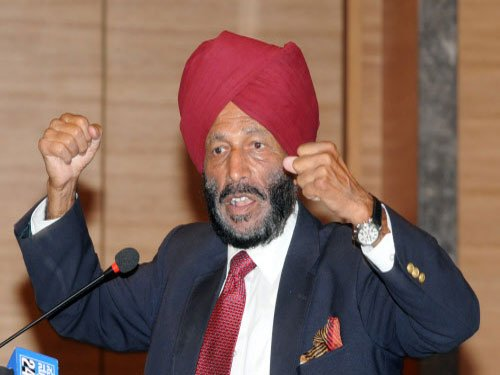 Milkha Singh for time-bound plan to produce top athletes