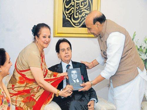 Dilip Kumar conferred with Padma Vibhushan