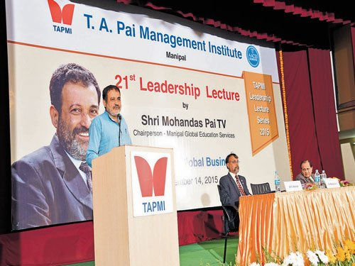 Changes in world disrupting global business, says Mohandas Pai