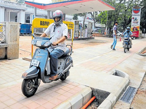Police intensify campaign against footpath-riding