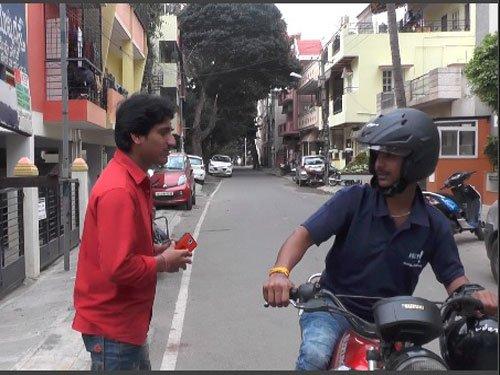 Motorcycle taxi in Bengaluru