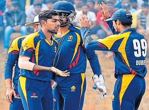 Karnataka on sticky wicket