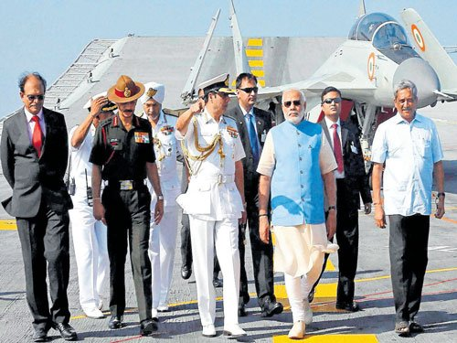 Western border guard will not be lowered: PM