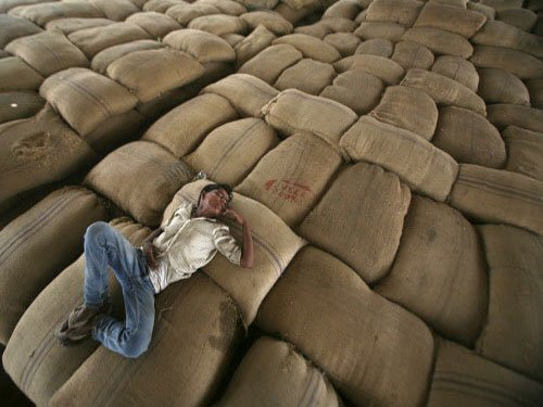 SC notice to Centre, eight states over food grain