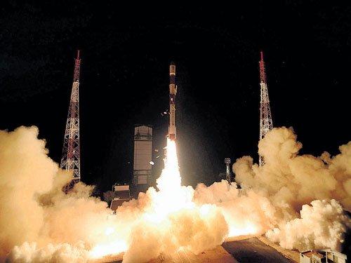 Isro launches Singapore satellites