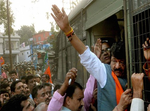 BJP to continue protest against Mamata government