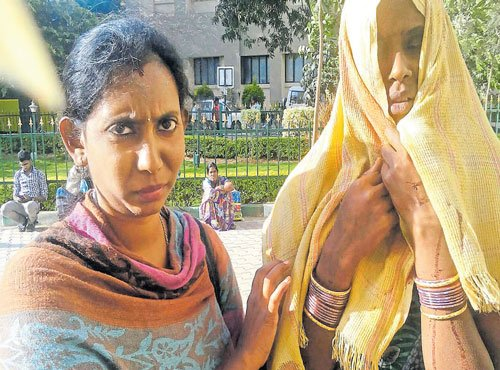 Chance meeting with saviour brings succour for woman