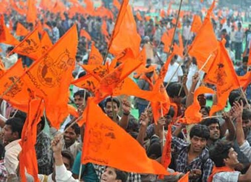 VHP's first lot of stones for Ram temple arrive, police on alert