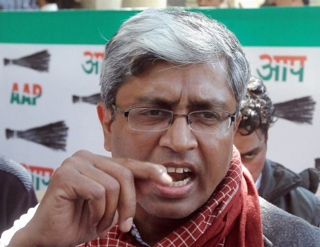 Not scared from going to jail: Ashutosh on Jaitley's move