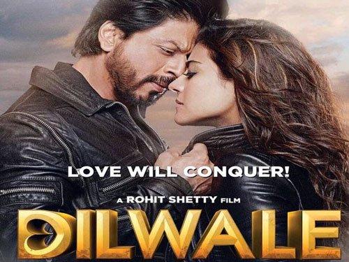 'Dilwale' crosses Rs.100 crore mark; 'Bajirao Mastani' 'unstoppable'