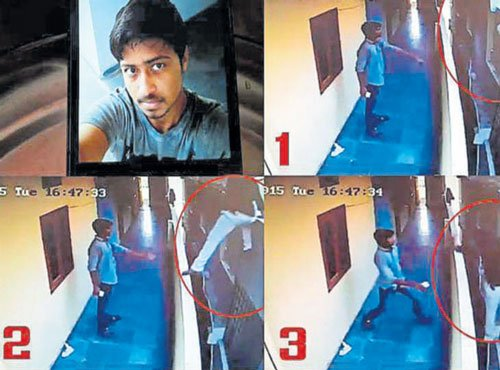 Student tries to jump to next hostel, falls to death