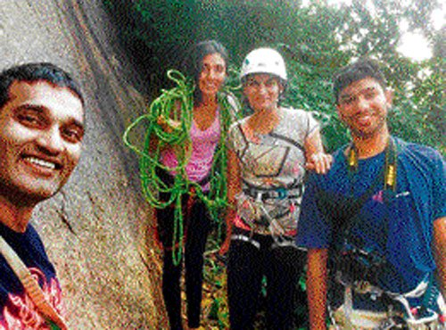 B'luru, ideal for friction climbing, say mountaineers
