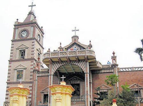 Bandel Church gets ready for mega Christmas celebrations