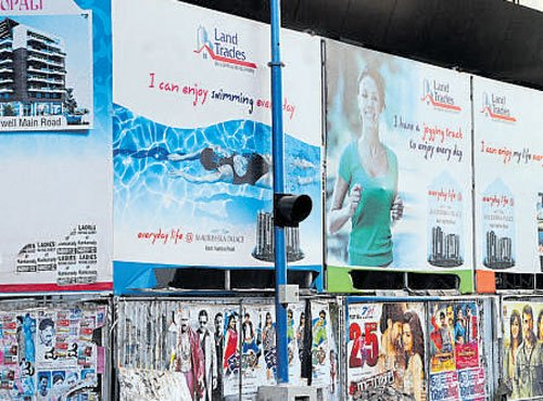 PIL in HC seeking ban on illegal hoardings, flexes