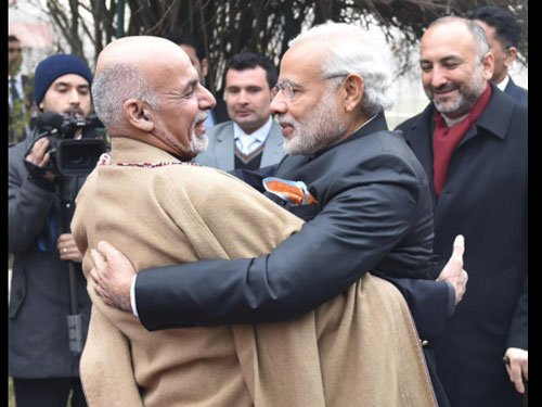 Modi meets Ghani to discuss security, bilateral cooperation