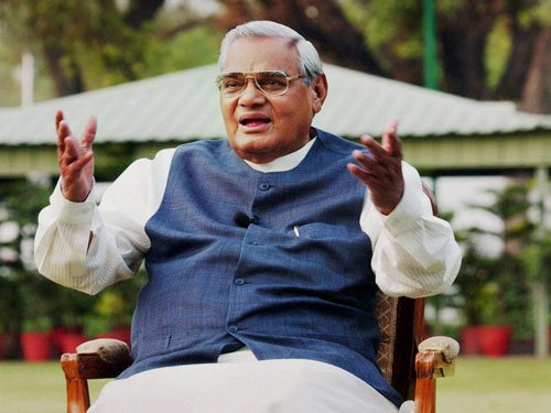 Train to Vajpayee's village 16 years after he laid foundation