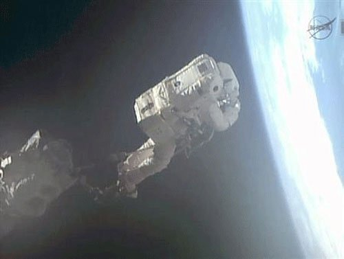British astronaut calls wrong number from space