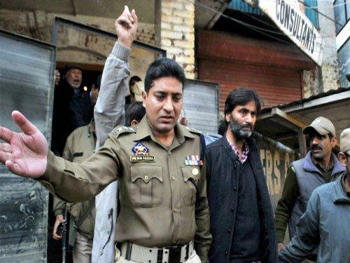 Clashes in Srinagar after Yasin Malik arrested