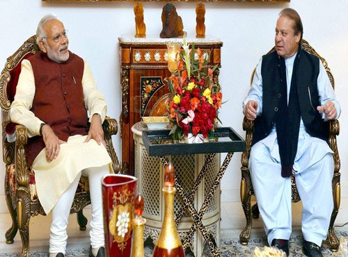 Personally touched by Sharif's welcome: Modi