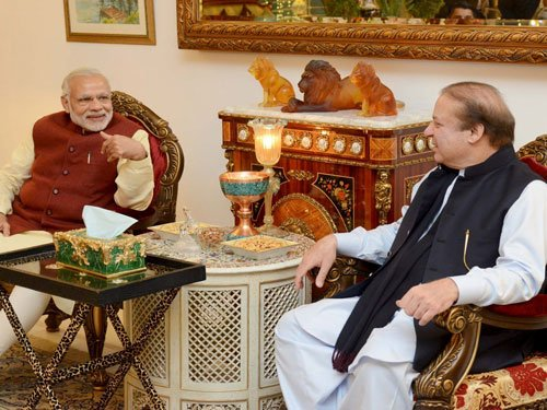 Modi, Sharif discussed Kashmir: Geo TV
