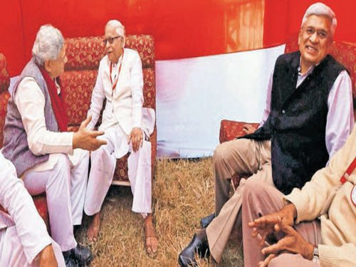 CPM may tie up with non-Left parties