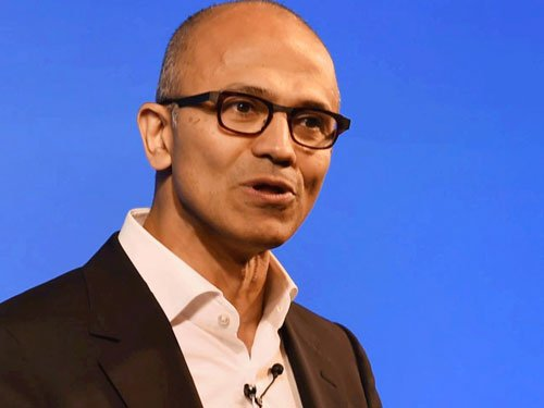 Microsoft to work with T-Hub to develop startups: Satya Nadella