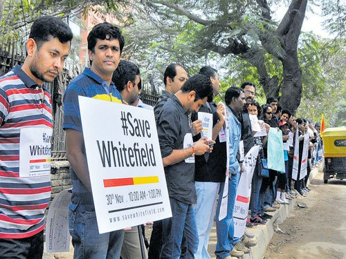 State mulls staggered timing to tackle Whitefield's woes