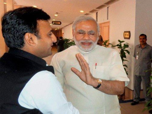 'Noida jinx' to keep UP CM Akhilesh away from PM event