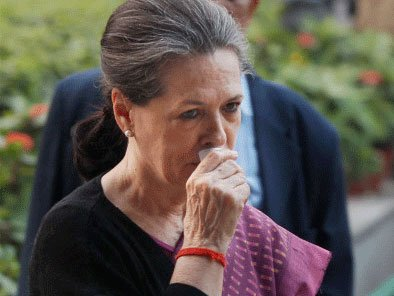 Sonia becomes emotional at institute named after Rajiv