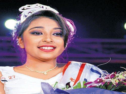 City teen is 'Beauty Queen of India'