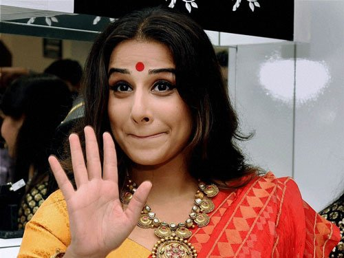 Vidya Balan back from hospital, to spend birthday at home