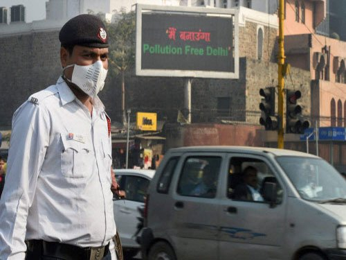 Odd-even plan: Air quality fluctuates on Day 1