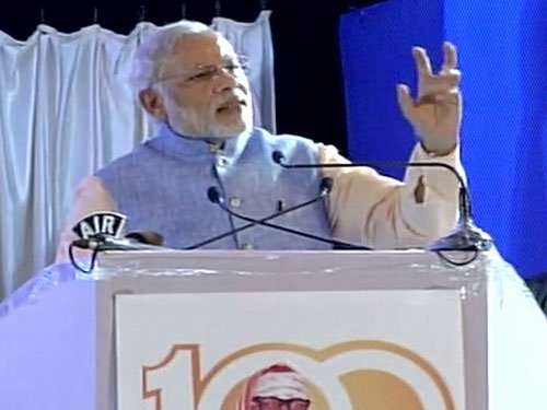Enemies of humanity carried out the attack in Pathankot, Modi
