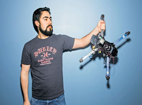 Drone tech finds its Silicon Valley