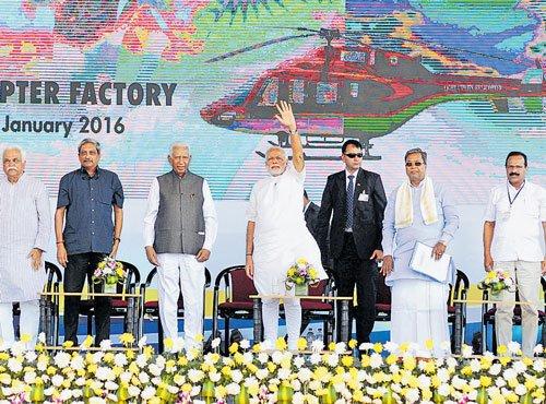 Modi advocates self-sufficiency in defence supplies