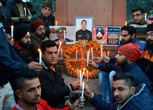 Teary final farewell to martyrs of Pathankot terror attack