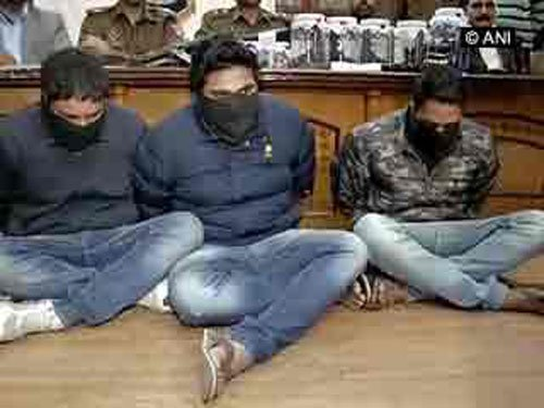 3 arrested with Pak SIM cards, AK-47 rifles