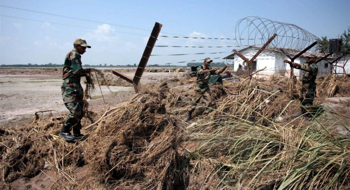 No breach of fencing but there are gapping holes along border: BSF