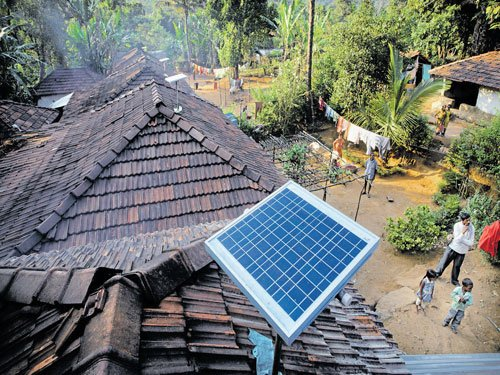 Electrifying India, with sun and small loans