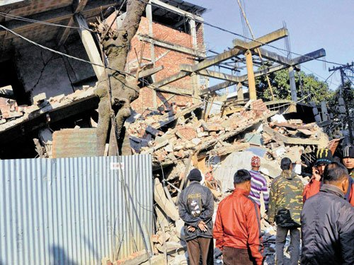 Manipur numb after earthquake