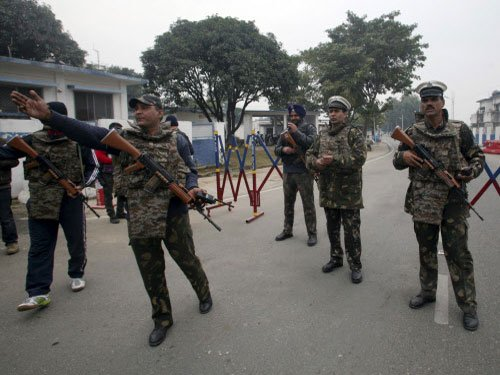 Another terrorist killed, more holed up in airbase