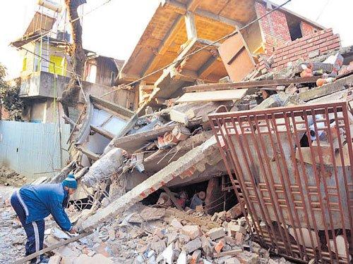 Quake rocks NE; Manipur worst hit