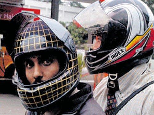 Helmet must for pillion riders in Karnataka