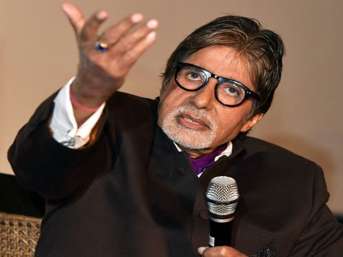 Fans make us who we are: Amitabh Bachchan
