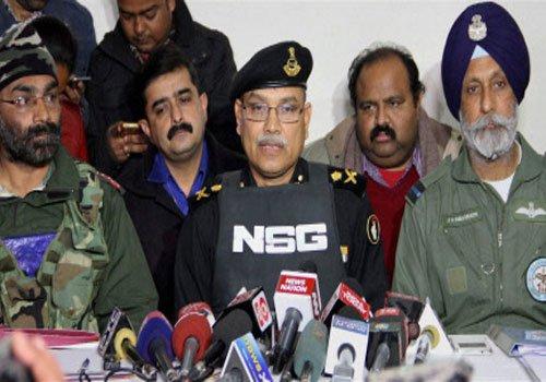 300 NSG commandos used smart weapons to combat terrorists