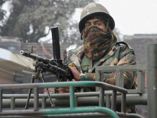 Combing operations on at Pathankot Air Base