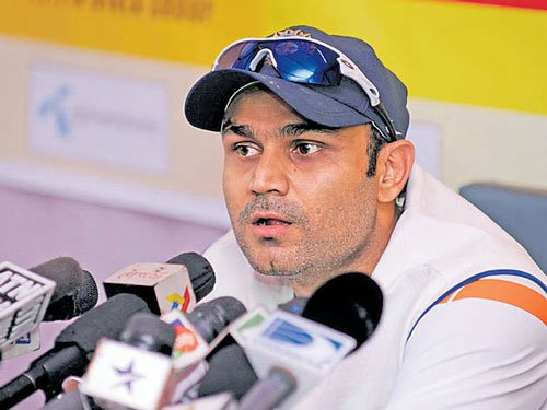 Sehwag says he changed his batting technique to emulate Sachin