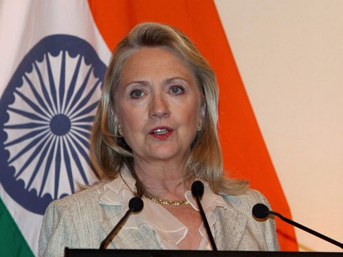 Need to have sense of unity in combating terrorism: Clinton