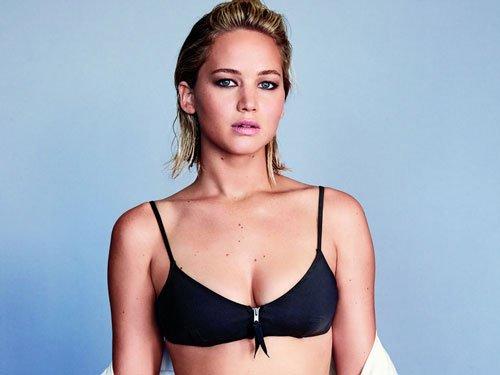 Jennifer Lawrence strips off for racy magazine shoot
